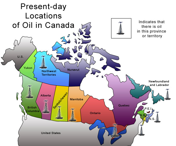 Map Of Oil Fields In Canada Ontario's Untapped Oil Reserves   The Canada eZine
